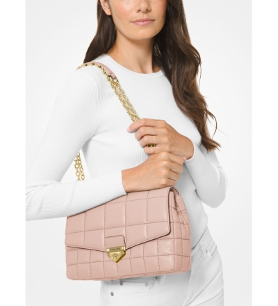 MICHAEL Michael Kors Soho Extra-Large Quilted Leather Shoulder Bag