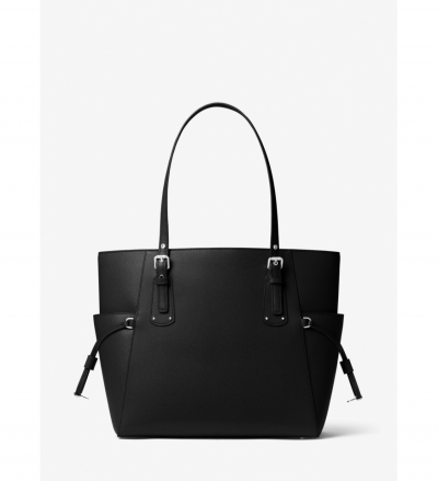 MICHAEL Michael Kors Voyager Small Crossgrain Leather Tote Bag