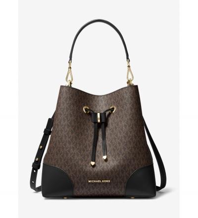 MICHAEL Michael Kors Mercer Gallery Medium Logo Shoulder Bag
