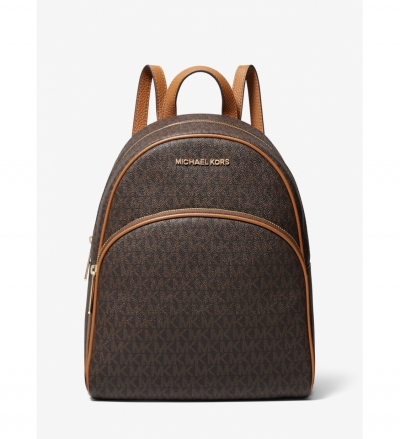 MICHAEL Michael Kors Abbey Medium Logo Backpack