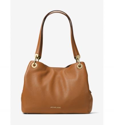 MICHAEL Michael Kors Raven Large Leather Shoulder Bag