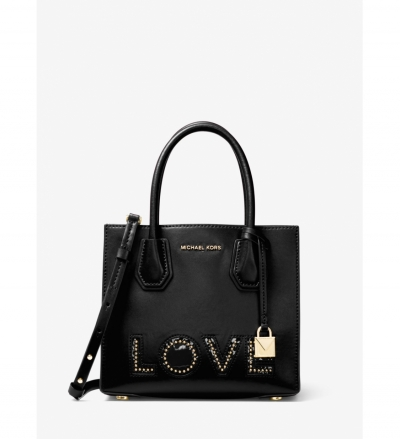 MICHAEL Michael Kors Mercer Love Leather Crossbody