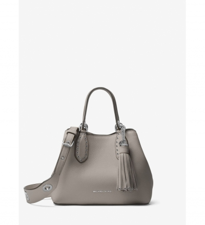 MICHAEL Michael Kors Brooklyn Small Leather Satchel