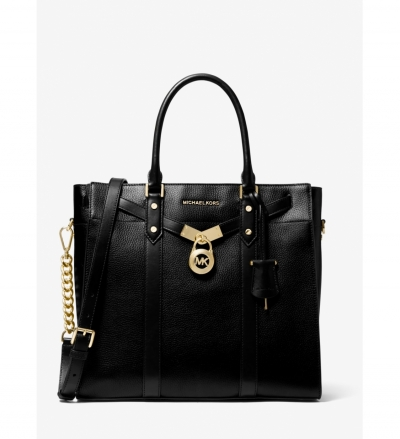 MICHAEL Michael Kors Nouveau Hamilton Pebbled Leather Tote Bag