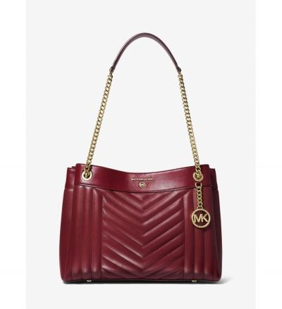 MICHAEL Michael Kors Susan Medium Quilted Leather Shoulder Bag
