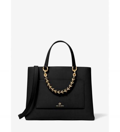 MICHAEL Michael Kors Cece Medium Leather Chain Messenger Bag