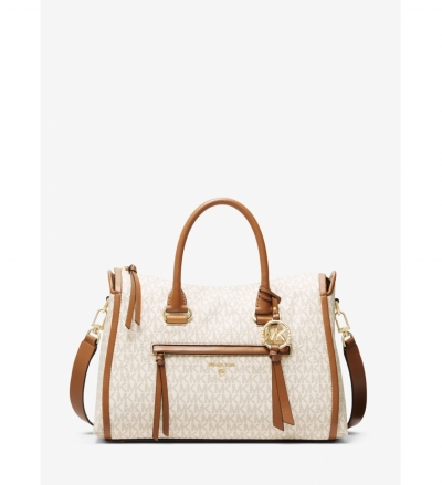 MICHAEL Michael Kors Carine Medium Logo Satchel