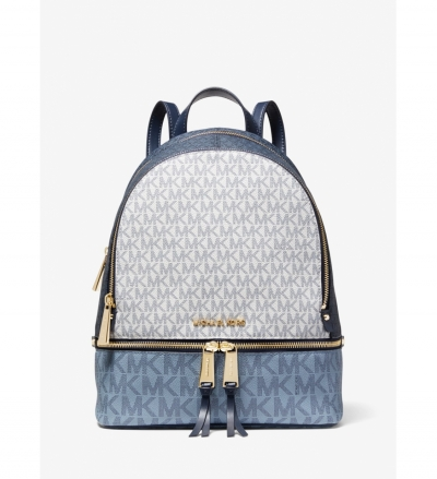 MICHAEL Michael Kors Rhea Medium Color-Block Logo Backpack