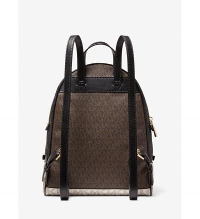 MICHAEL Michael Kors Rhea Medium Color-Block Logo Backpack