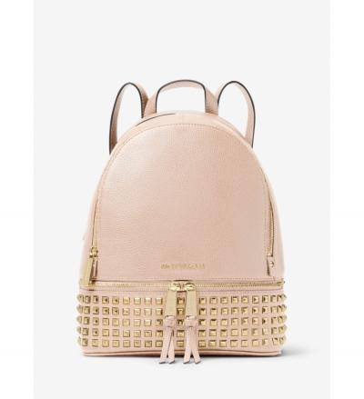MICHAEL Michael Kors Rhea Medium Studded Leather Backpack