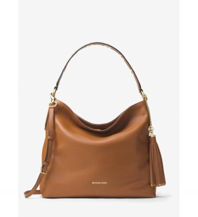 MICHAEL Michael Kors Brooklyn Large Leather Shoulder Bag