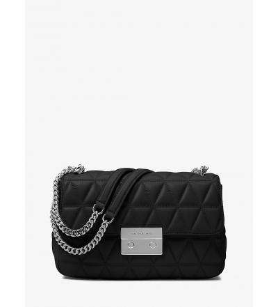 MICHAEL Michael Kors Sloan Large Quilted-Leather Shoulder Bag