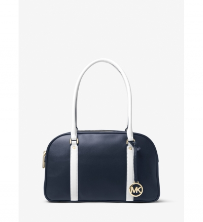 MICHAEL Michael Kors Chatham Leather Bowling Satchel