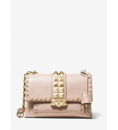 MICHAEL Michael Kors Cece Medium Studded Leather Shoulder Bag