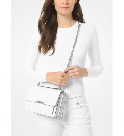 MICHAEL Michael Kors Jade Large Leather Crossbody Bag