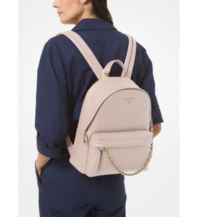 MICHAEL Michael Kors Slater Medium Pebbled Leather Backpack