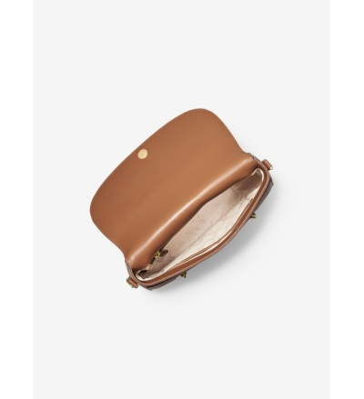 MICHAEL Michael Kors Bedford Legacy Medium Logo and Leather Shoulder Bag