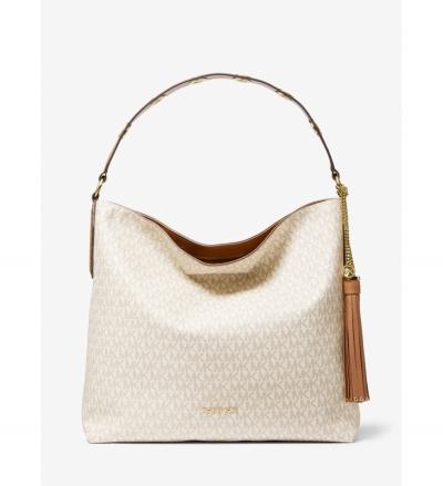 MICHAEL Michael Kors Brooklyn Large Logo Shoulder Bag