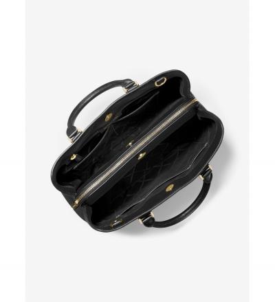 MICHAEL Michael Kors Camille Large Pebbled Leather Satchel