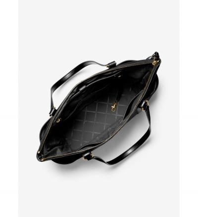MICHAEL Michael Kors Sullivan Large Saffiano Leather Top-Zip Tote Bag