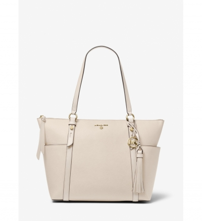 MICHAEL Michael Kors Nomad Large Saffiano Leather Top-Zip Tote Bag