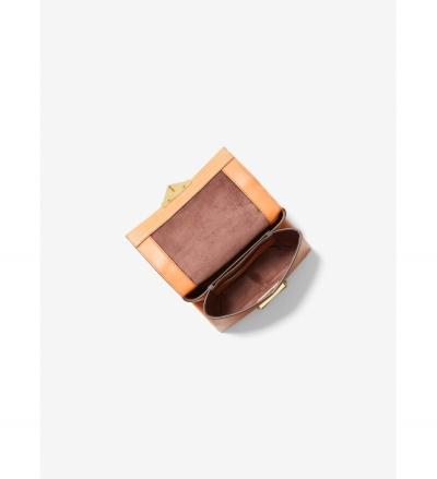 MICHAEL Michael Kors Cece Extra-Small Lizard Embossed Leather Crossbody Bag