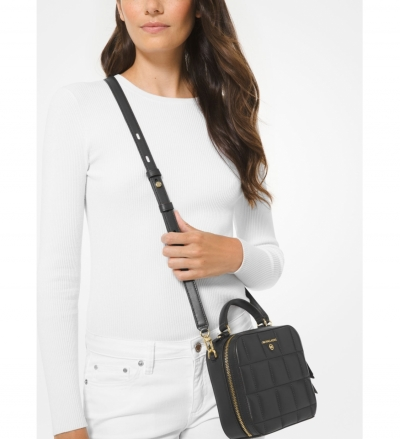 MICHAEL Michael Kors Jet Set Medium Quilted Leather Crossbody Bag