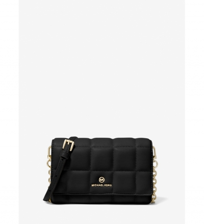MICHAEL Michael Kors Small Quilted Leather Smartphone Crossbody Bag