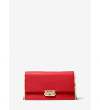 MICHAEL Michael Kors Cece Large Leather Convertible Crossbody Bag