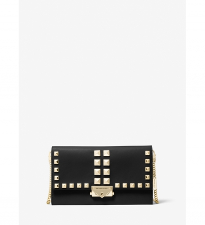 MICHAEL Michael Kors Cece Large Studded Leather Convertible Crossbody Bag
