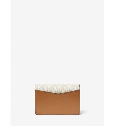 MICHAEL Michael Kors Small Logo and Leather Wallet