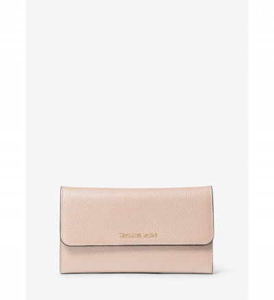 MICHAEL Michael Kors Mercer Tri-Fold Leather Wallet