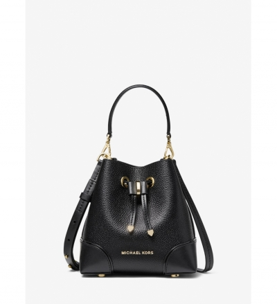 MICHAEL Michael Kors Mercer Gallery Extra-Small Pebbled Leather Crossbody Bag