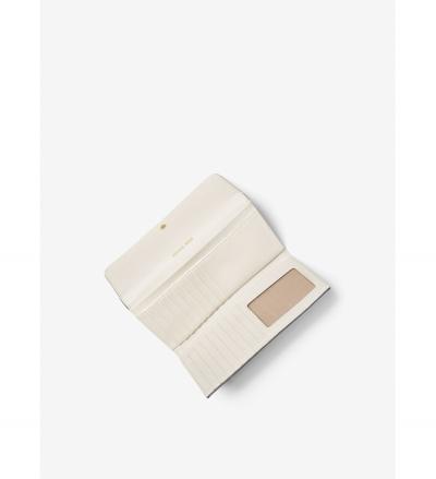 MICHAEL Michael Kors Mercer Logo Tri-Fold Wallet