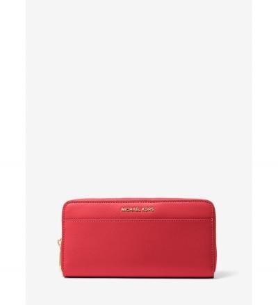 MICHAEL Michael Kors Jet Set Saffiano Leather Continental Wallet