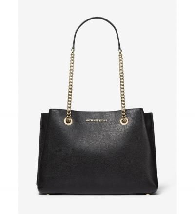 MICHAEL Michael Kors Teagan Large Pebbled Leather Shoulder Bag