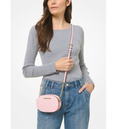 MICHAEL Michael Kors Jet Set Travel Small Saffiano Leather Convertible Crossbody Bag
