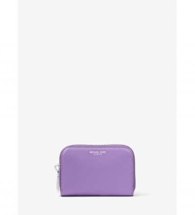 Michael Kors Collection Miranda French Calf Leather Card Holder