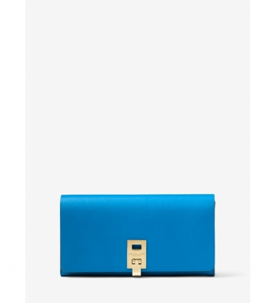 Michael Kors Collection Miranda Continental Leather Wallet