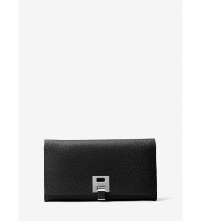 Michael Kors Collection Bancroft Leather Continental Wallet
