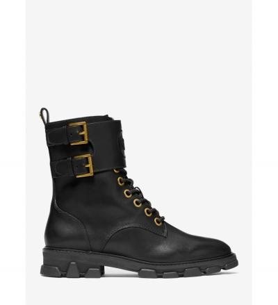 MICHAEL Michael Kors Ridley Leather Combat Boot