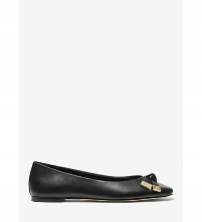 MICHAEL Michael Kors Ripley Leather Ballet Flat