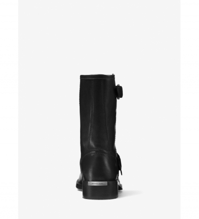 MICHAEL Michael Kors Jonas Leather Moto Boot
