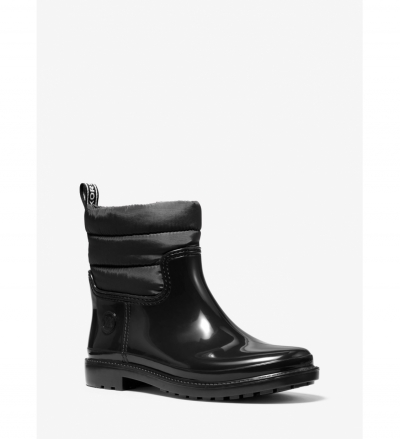 MICHAEL Michael Kors Blakely PVC and Quilted Nylon Rain Boot