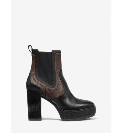 MICHAEL Michael Kors Cramer Logo and Leather Platform Boot