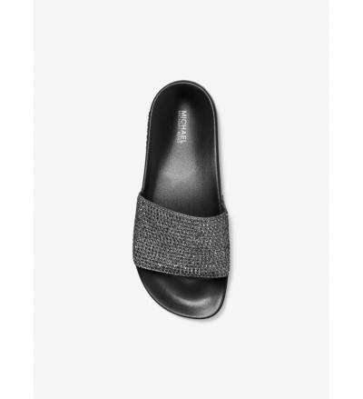 MICHAEL Michael Kors Gilmore Crystal Embellished Slide Sandal