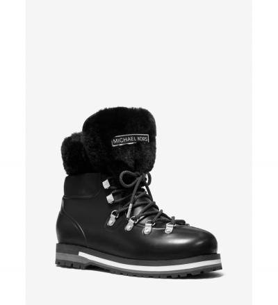 MICHAEL Michael Kors Lanis PVC and Faux Fur Rain Boot