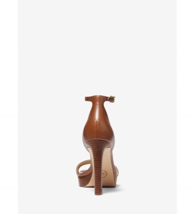 MICHAEL Michael Kors Margot Leather Platform Sandal