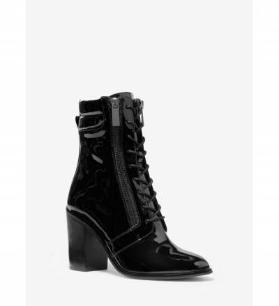 MICHAEL Michael Kors Rosario Patent Leather Lace-Up Boot
