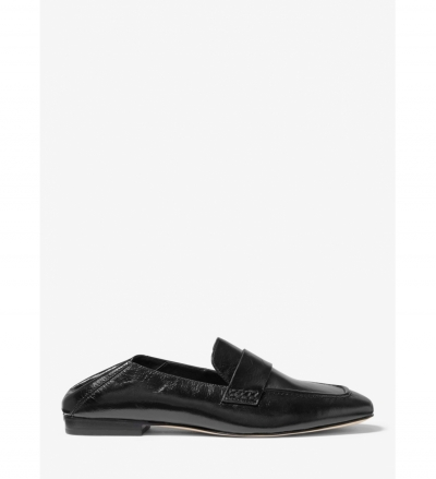 MICHAEL Michael Kors Emory Crinkled Leather Loafer